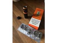 Smok 22 E pen with 5 filter coils