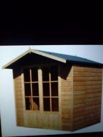 7x5 summer house