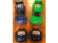Vintage Schumacher K0009k SST Sport Subaru WRC 1/10 constructed and ready to use