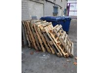 Free pallets ready for collection asap