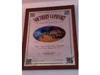 Southern Comfort Mirror (24inch x 19inch)