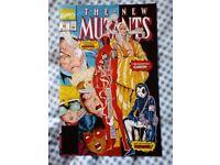 New Mutants 98 reprint. 1st app of Deadpool