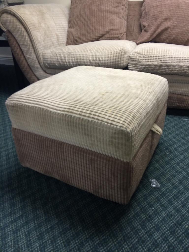 Foot stool. Storage box -Free
