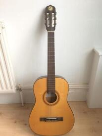 Vintage 60s Kay 3/4 acoustic guitar made in GDR (Germany)