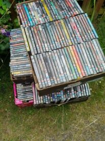 1450 approx assorted dvds