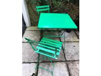 Habitat garden table and chairs