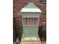 ** VINTAGE FRENCH BAGUETTE BOX LOVINGLY REVIVED IN AN OLIVE CHALK PAINT **