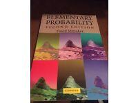 Elementary Probability David Stirzaker Second Edition