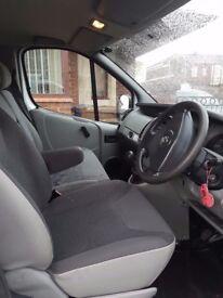 Vauxhall vivaro 1.9DI SWB.