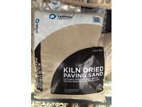 Kiln Dried Sand 10 x bags. Block paving, artificial grass, playpit sand. £1.80 per bag or bulk deal.