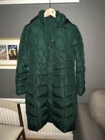 Padded down coat - size 12