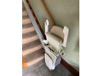 Xclusive Handicare Power Swivel Stair Lift