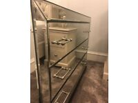Laura Ashley Mirrored Chest of drawers