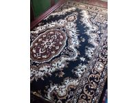 Oriental black and gold carpet forsale brandnew