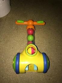 TOMY pick & pop child's walking toy
