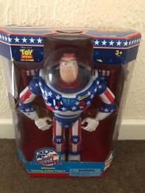 Stars and Stripes Buzz LIGHTYEAR. - RARE