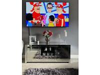 Beautiful Mirror TV unit