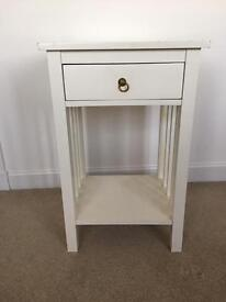 White bedside table - free