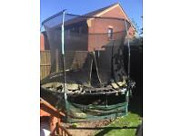 Free trampoline needs dismantled and collected