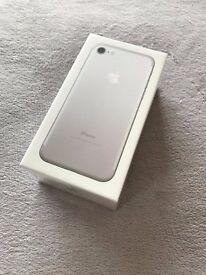 New Sealed Apple iPhone 7 - Silver - 32GB - Unlocked