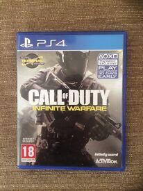 PS4 call of duty infinite warfare £30