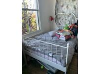 Leirvik IKEA double bed