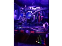 LIQUID COOLED GAMING PC
