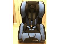 Recaro Young Expert Plus Isofix Car Seat Blue and Black Group 1 9-18kgs