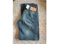 Men's Brand New Levi's Jeans 30 Waist 32 Leg