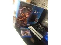 PS4 with destiny