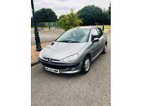 BIG BARGAIN ✳️✳️🚙 PEUGEOT 206 -2004// 1.4 DIESEL//WITH LONG MOT//5 DOORS