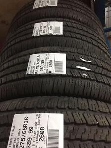 275/65/18 Goodyear Wrangler Sr-A (All Season)