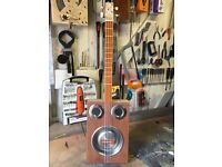 Resonator cigar box guitar