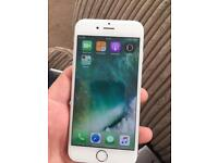 I phone 6 64gig unlocked like new wite and silver