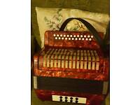 Lovely Button accordian