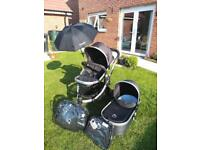 iCandy Peach Black Travel System - Very Good Condition