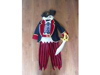 Boys Pirate Halloween Costume 4-5 Years