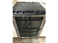 Zanussi Free Standing Electric Cooker with double oven & ceramic hob