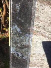 Granite work tops bros blue & steel grey