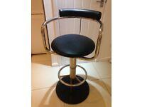 Salon swivel stool