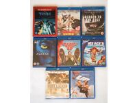 Assorted Blu-Ray DVDs (2D and 3D)