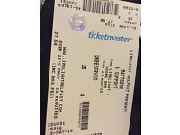 Mastodon ticket for limelight belfast