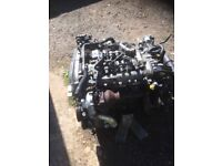 Vauxhall insignia diesel engine and gear box engine seized good 6speed gear box came out 2011 car
