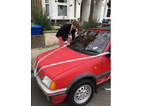Peugeot 205 cti 1990 Red