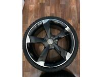 Audi 18inch Rotor Style Alloy Wheels