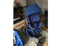 Quinny moodd with maxi cosi carseat