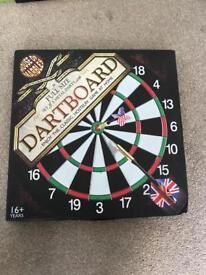 New Dartboard