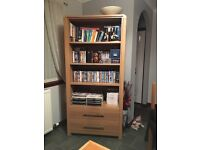 Book case with drawers
