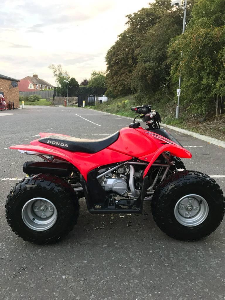 Honda TRX90 X SPORTRAX 4X2 2WD QUAD BIKE ATV FOUR WHEELS KIDS QUAD