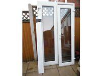 KOMMERLIN WHITE UPVC DOUBLE GLAZED FRENCH DOORS